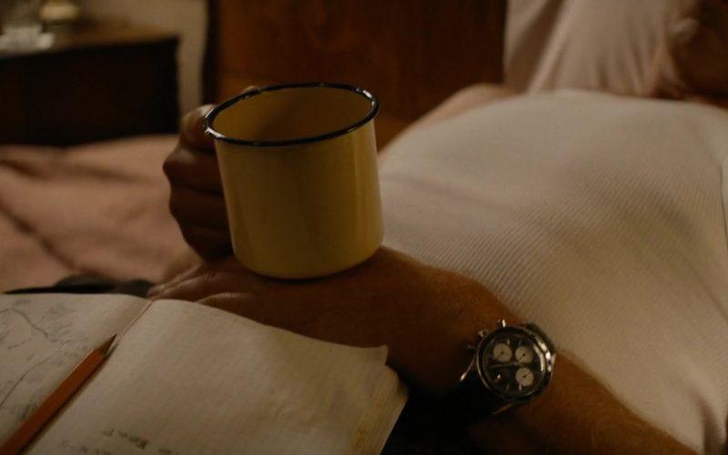 Heuer Autavia Wrist Watch Worn by Christian Bale as Ken Miles in Ford v Ferrari
