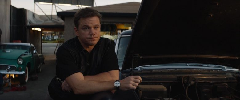 Heuer Carrera 7753SN Wrist Watch Worn by Matt Damon as Carroll Shelby in Ford v Ferrari (1)
