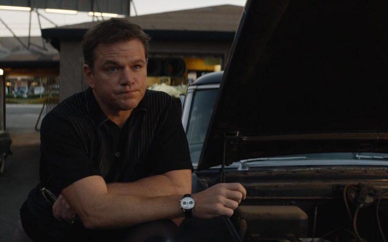 Heuer Carrera 7753SN Wrist Watch Worn by Matt Damon as Carroll Shelby in Ford v Ferrari (1)
