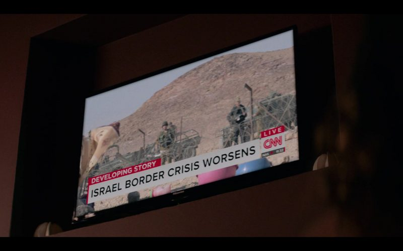 Hisense TV and CNN Channel in Messiah Season 1 Episode 6 We Will Not All Sleep (2020)