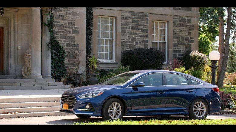 Hyundai Sonata Blue Car in October Faction Season 1 Episode 1 Presidio 2020 TV Show (1)