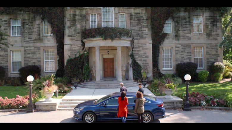 Hyundai Sonata Blue Car in October Faction Season 1 Episode 1 Presidio 2020 TV Show (3)