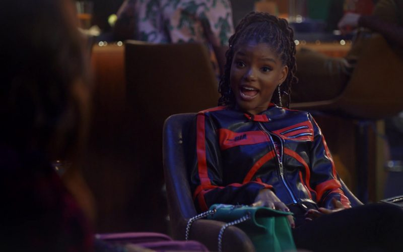 I.AM.GIA Biker Jacket For Women Worn by Halle Bailey in Grown-ish Season 3 Episode 2 Damn (1)