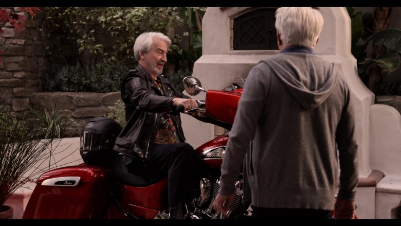 Indian Motorcycle in Grace and Frankie Season 6 Episode 13 The Change (2)
