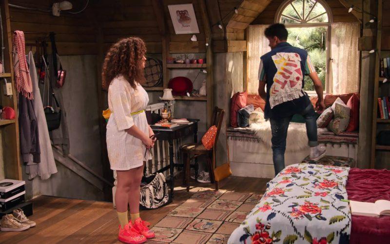 Jordan Pink Sneakers Worn by Talia Jackson as Jade McKellan in Family Reunion Season 1 Episode 20 (1)