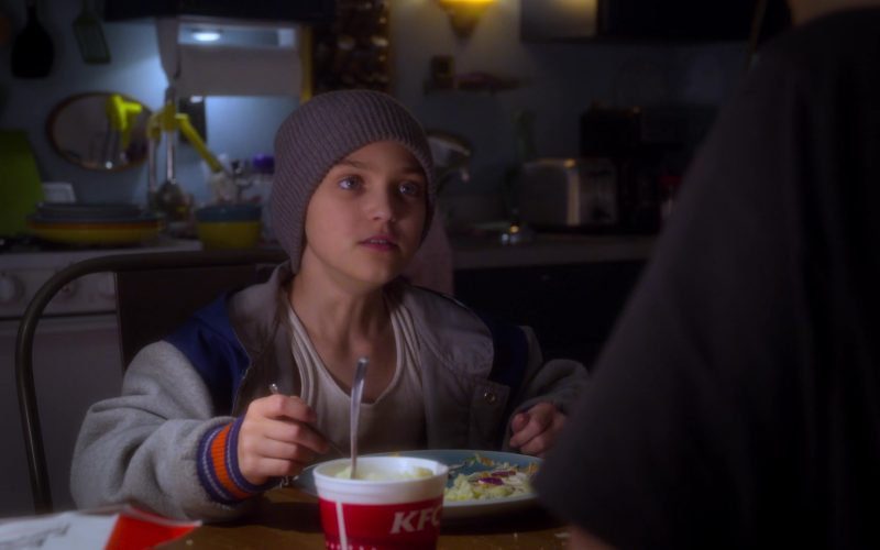 KFC Fast Food Enjoyed by Izzy Gaspersz in AJ and the Queen Season 1 Episode 1 New York City (5)