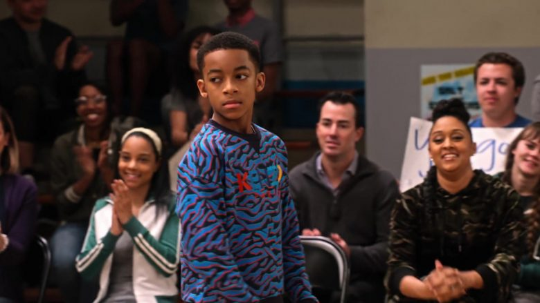 Kenzo Sweatshirt Worn by Isaiah Russell-Bailey as Shaka McKellan in Family Reunion Season 1 Episode 12 Remember the Dance Battle (1)