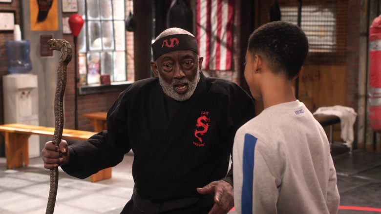 Kenzo Sweatshirt Worn by Isaiah Russell-Bailey as Shaka McKellan in Family Reunion Season 1 Episode 16 (3)