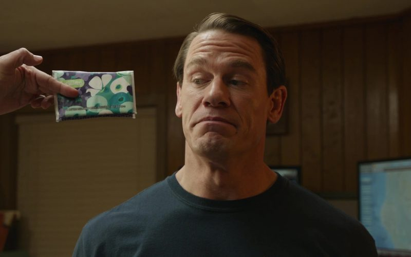 Kleenex Wipes Used by John Cena in Playing with Fire (1)