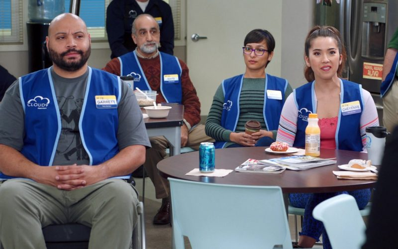 LaCroix Sparkling Water in Superstore Season 5 Episode 13 Favoritism (2020)