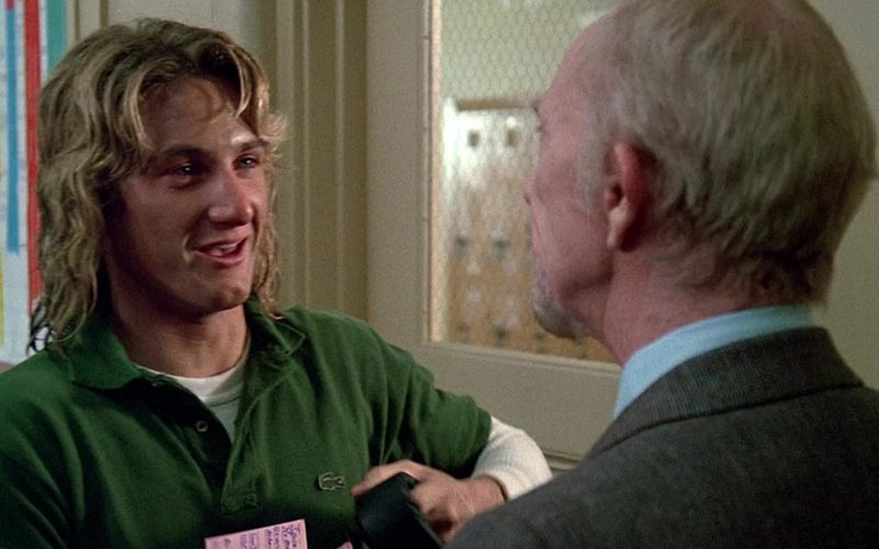 Lacoste Green Shirt Worn by Sean Penn as Jeff Spicoli in Fast Times at Ridgemont High (1982)