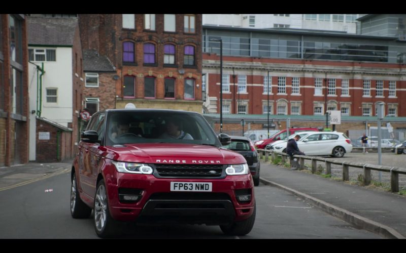 Land Rover Range Rover Red Car in The Stranger Episode 5 (6)