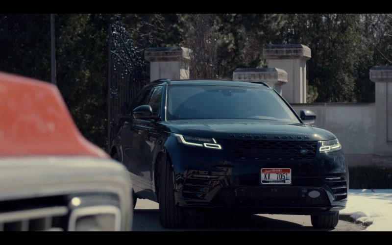 Land Rover Range Rover Velar Black SUV Used by Evan Roderick as Justin Davis in Spinning Out Season 1 Episode 5 (1)