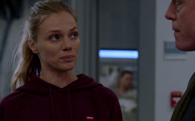 Levi's Hoodie Worn by Tracy Spiridakos as Detective Hailey Upton in Chicago P.D. Season 7 Episode 10 Mercy (4)