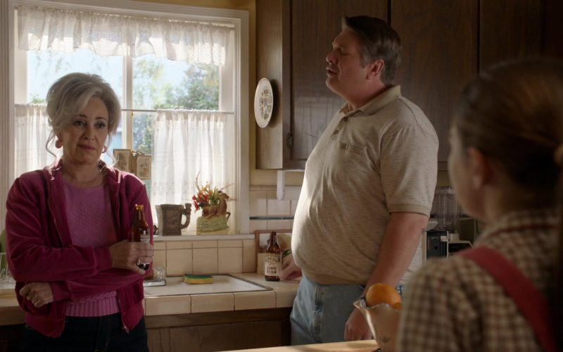Lone Star Beer in Young Sheldon Season 3 Episode 11 A Live Chicken, a Fried Chicken and Holy Matrimony