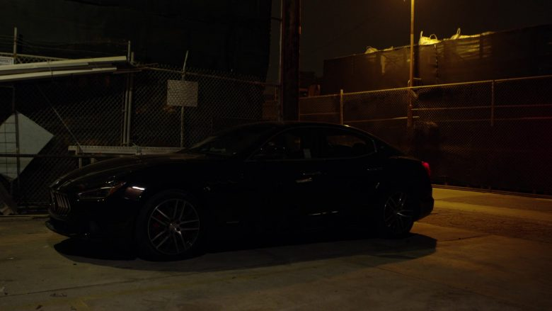 Maserati Ghibli Black Car Used by Natalia Guslistaya in Acceleration Movie (11)