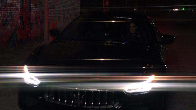 Maserati Ghibli Black Car Used by Natalia Guslistaya in Acceleration Movie (6)