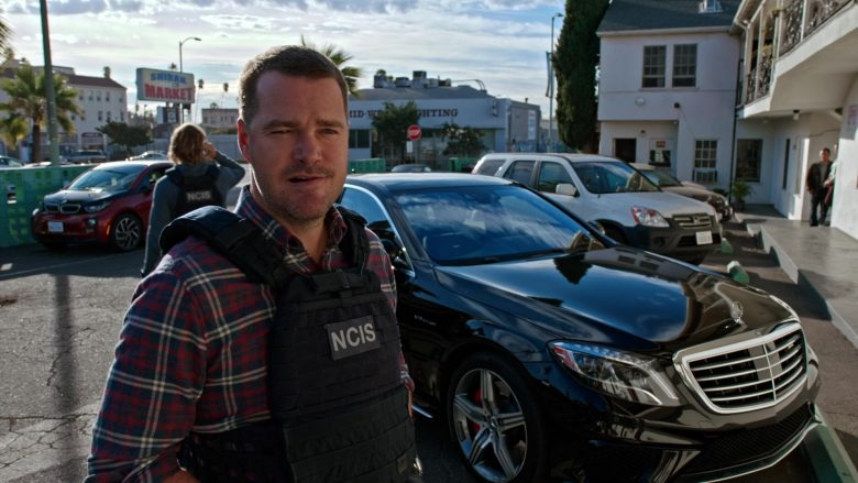 Mercedes-Benz Black Car in NCIS Los Angeles Season 11 Episode 13 High Society 2020 TV Show (4)