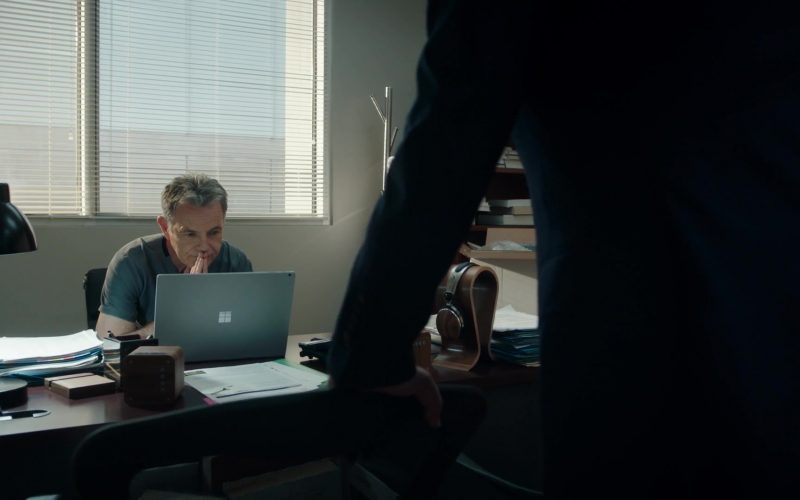 Microsoft Surface Laptop Used by Bruce Greenwood as CEO Randolph Bell in The Resident Season 3 Episode 11 Free Fall (2)