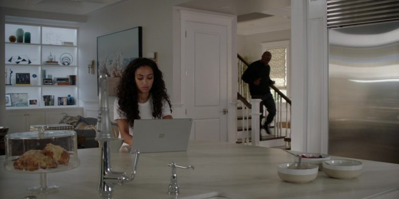 "Microsoft Surface Laptop Used by Samantha Logan as Olivia Baker in All American Season 2 Episode 9 ""One of Them Nights"" (2020) TV Show"