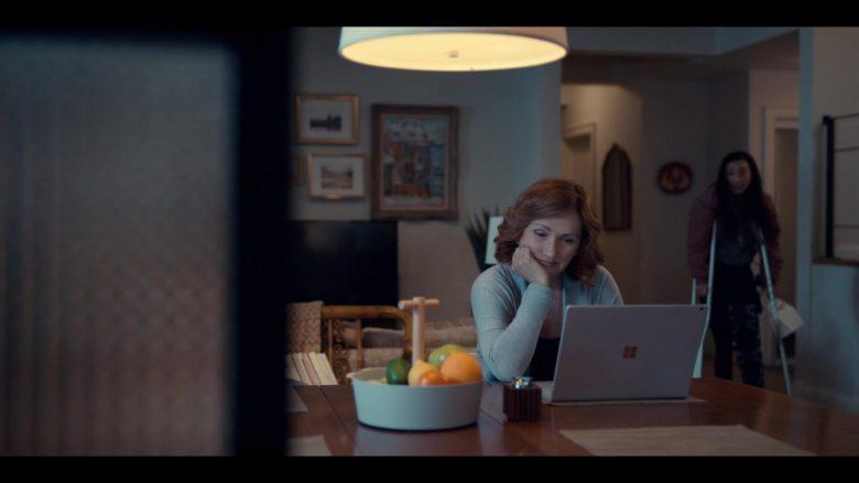 Microsoft Surface Laptop Used by Svetlana Efremova as Dasha Fedorova in Spinning Out Season 1 Episode 9 (1)
