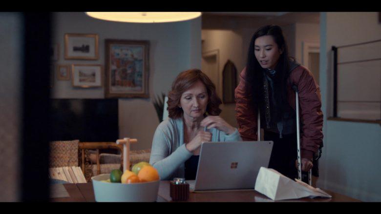 Microsoft Surface Laptop Used by Svetlana Efremova as Dasha Fedorova in Spinning Out Season 1 Episode 9 (2)