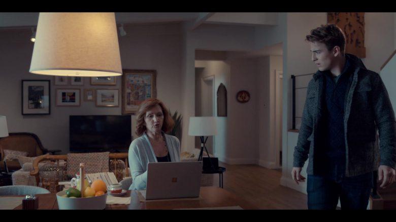 Microsoft Surface Laptop Used by Svetlana Efremova as Dasha Fedorova in Spinning Out Season 1 Episode 9 (4)