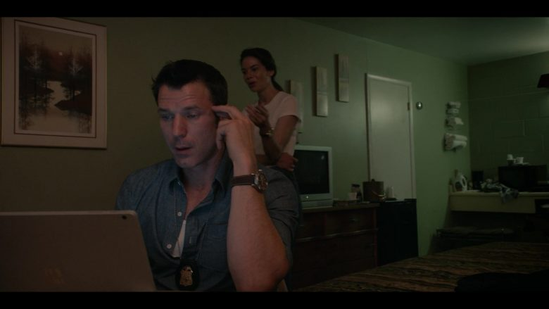 Microsoft Surface Laptop Used by Wil Traval as Will Mathers in Messiah Season 1 Episode 6 We Will Not All Sleep (1)