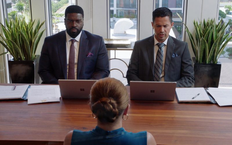 Microsoft Surface Laptops Used by Stephen Hill & Jay Hernandez in Magnum P.I. Season 2 Episode 13 Mondays Are for Murder (1)