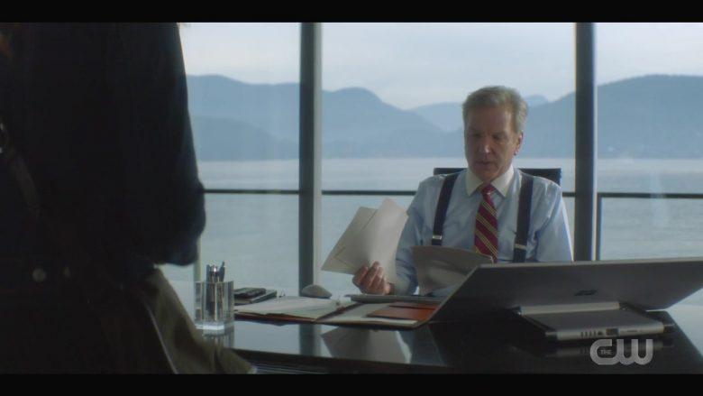 "Microsoft Surface Studio Computer Used by Martin Donovan as Everett Hudson in Nancy Drew Season 1 Episode 11 ""The Phantom of Bonny Scot"" (2020) TV Show"