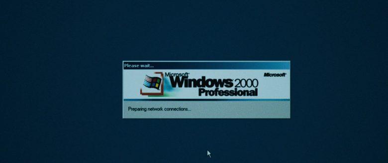 Microsoft Windows 2000 Professional OS in Dark Waters (2019)