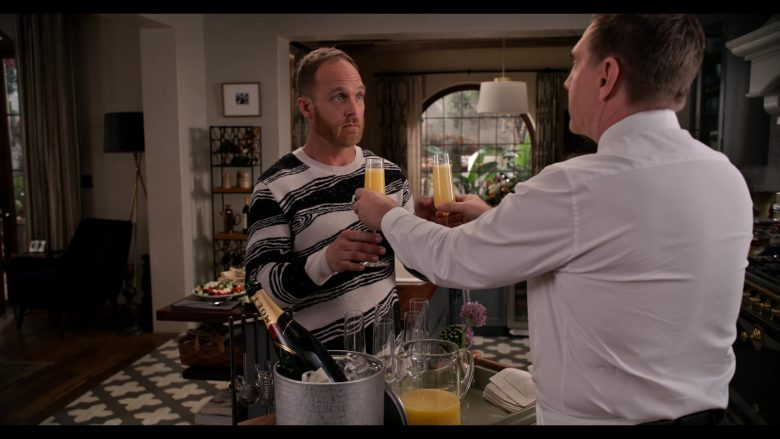 Moet Champagne in Grace and Frankie Season 6 Episode 1 The Newlyweds (2)