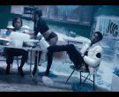 Moncler White Down Jacket Worn by NBA YoungBoy in 'Make No Sense' (5)