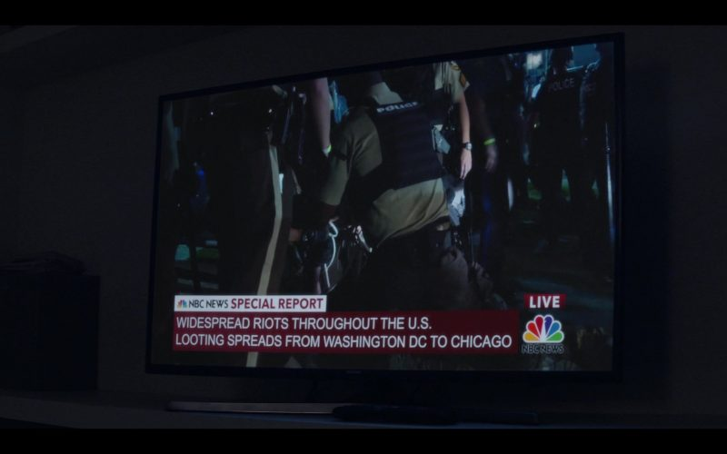 NBC News in Messiah Season 1 Episode 9 God Is Greater (2020)