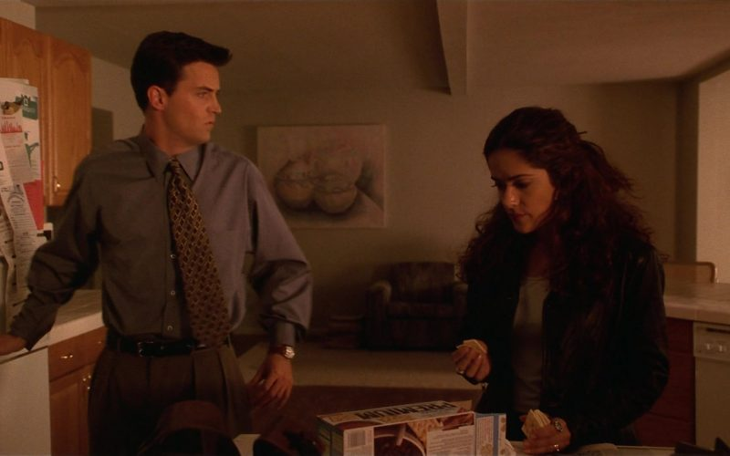 Nabisco Premium Crackers Enjoyed by Salma Hayek as Isabel Fuentes-Whitman in Fools Rush In (1)