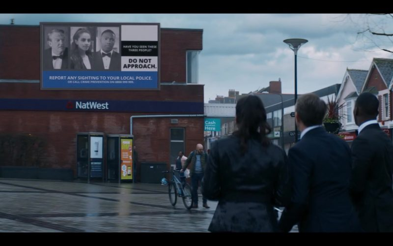 NatWest Bank in Doctor Who Season 12 Episode 2 Spyfall, Part 2