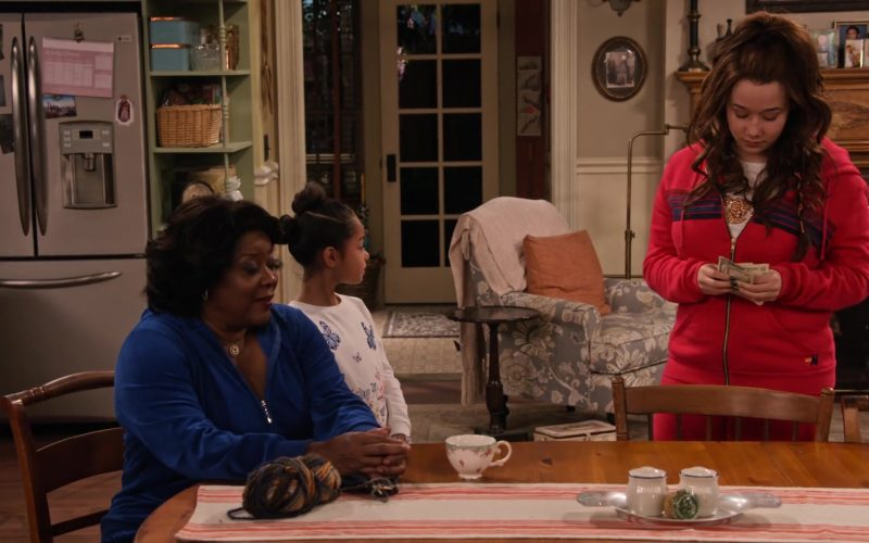 New Balance Hoodie and Sweatpants Worn by Talia Jackson as Jade McKellan in Family Reunion Season 1 Episode 16 (5)