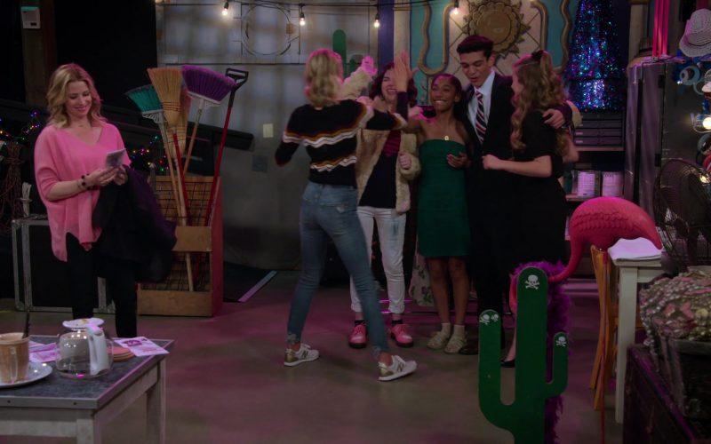 New Balance Sneakers Worn by Isabel May in Alexa & Katie Season 3 Episode 6 Writer-Director-Nervous Wreck (3)
