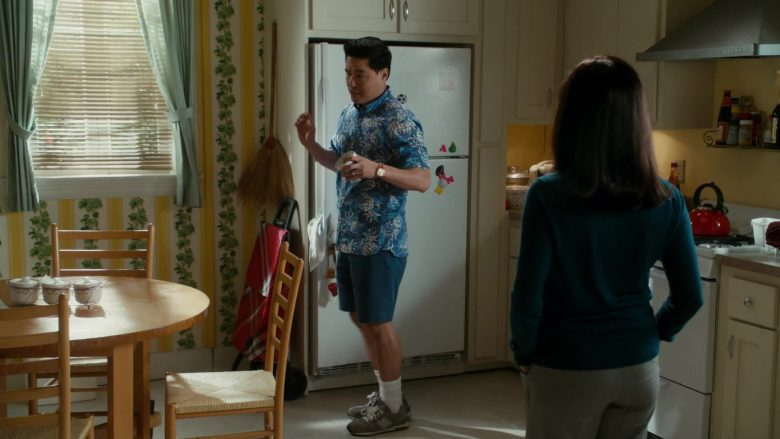 New Balance Sneakers Worn by Randall Park as Louis Huang in Fresh Off the Boat Season 6 Episode 12 (2020) TV Show