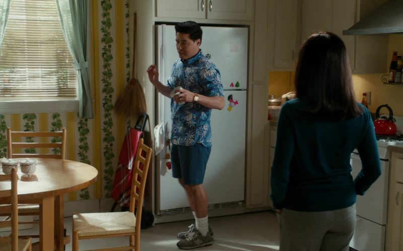 New Balance Sneakers Worn by Randall Park as Louis Huang in Fresh Off the Boat Season 6 Episode 12