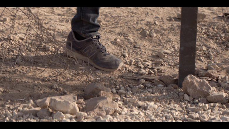New Balance Sneakers in Messiah Season 1 Episode 1 He That Hath an Ear (2020)