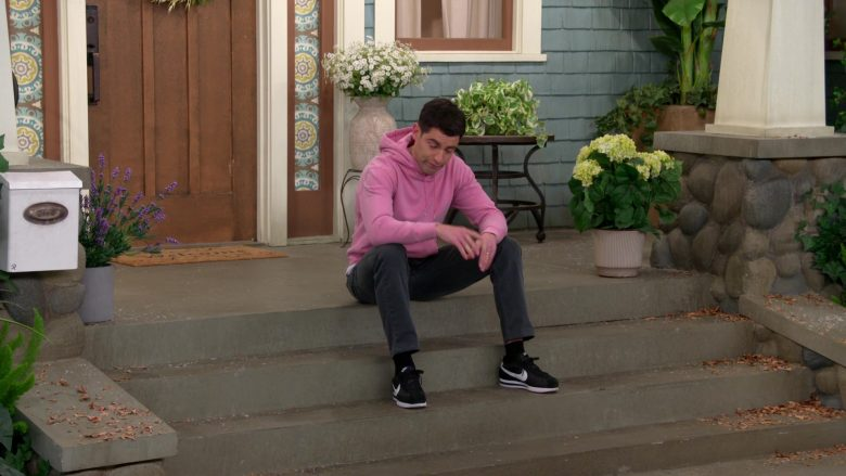 "Nike Black Shoes Worn by Max Greenfield as Dave in The Neighborhood Season 2 Episode 12 ""Welcome to the Freeloader"" (2020) TV Show"