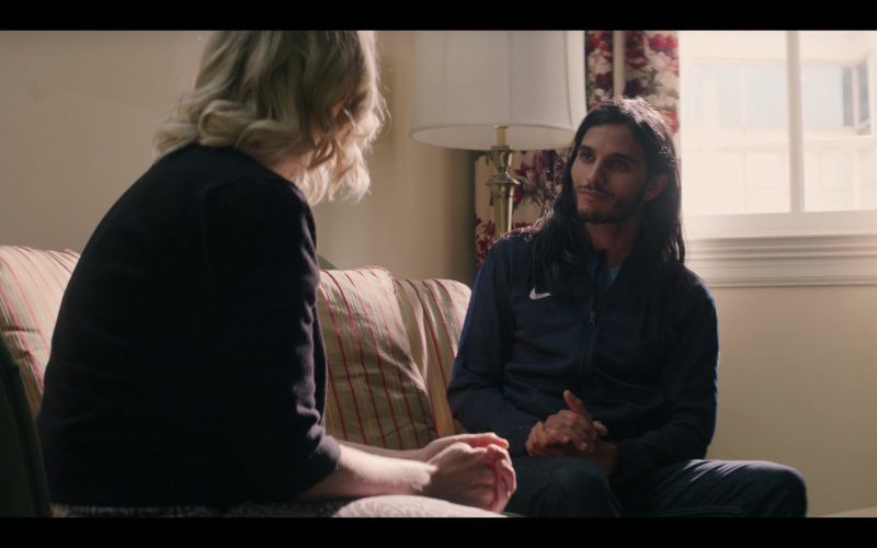Nike Jacket Worn by Mehdi Dehbi as Al-Massih in Messiah Season 1 Episode 8 Force Majeure