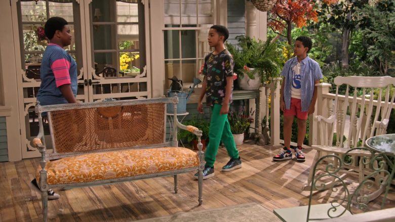 """Nike Shoes Worn by Isaiah Russell-Bailey and Cameron J. Wright in Family Reunion Season 1 Episode 20 """"Remember When the Party Was Over?"""" (2020) TV Show"""