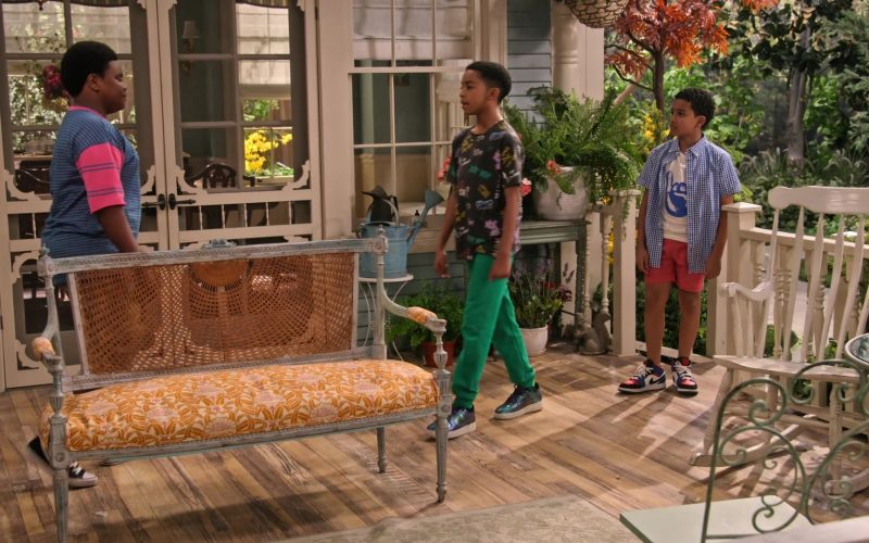 Nike Shoes Worn by Isaiah Russell-Bailey and Cameron J. Wright in Family Reunion Season 1 Episode 20