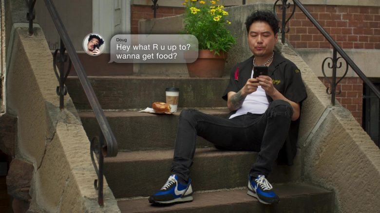 Nike Sneakers Worn by Jonathan Park as Doug in Awkwafina Is Nora from Queens Season 1 Episode 2 Atlantic City (2020)