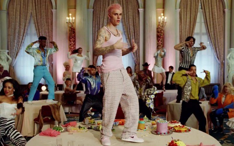 Nike Sneakers Worn by Justin Bieber in Yummy (2020)