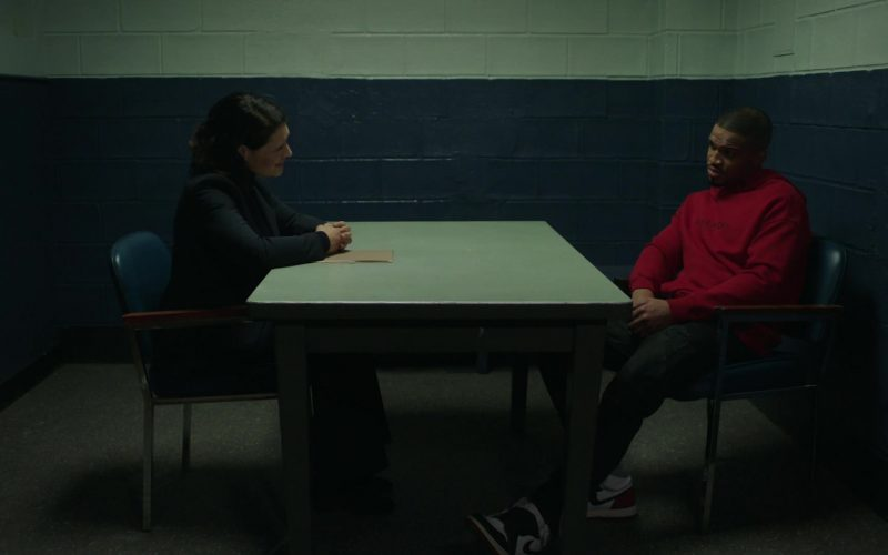 Nike Sneakers and Givenchy Hoodie in Power Season 6 Episode 11 Still Dre