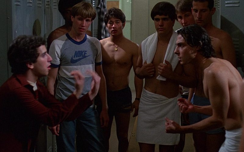 Nike T-Shirt For Men in Fast Times at Ridgemont High (1982)