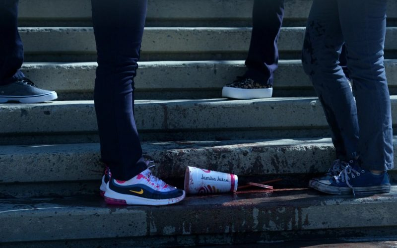 Nike Women's Sneakers and Jamba Juice Cup in Little America Season 1 Episode 2 The Jaguar (2020)